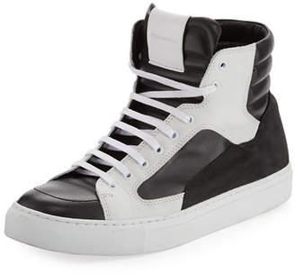Public School Men's Artel Leather High-Top Sneakers