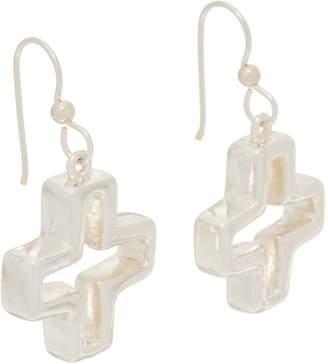 Simon Sebbag Sterling Silver Charm Drop Earrings