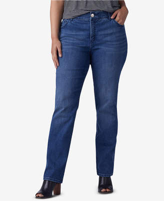 Lee Platinum Plus & Petite Plus Size Straight-Leg Jeans