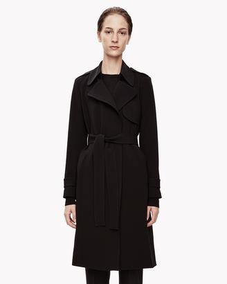 Crepe Trench Coat $595 thestylecure.com
