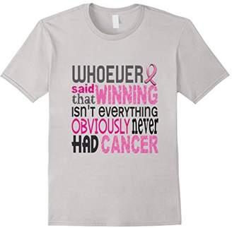 Victoria's Secret Winning Cancer Gift Shirt
