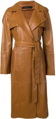 FEDERICA TOSI midi trench coat