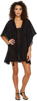 Jantzen Crochet Tunic Cover-Up Women's Swimwear