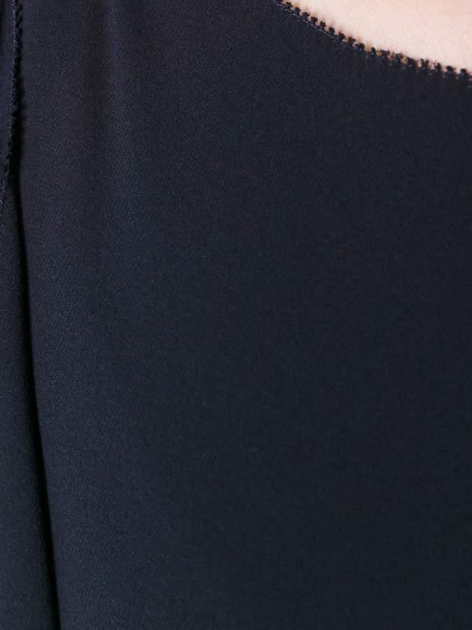 Valentino boat neck midi dress