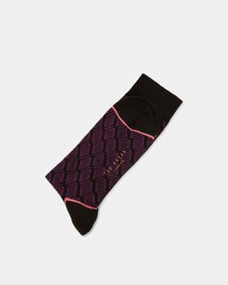 Ted Baker EVAAN Geo print cotton socks