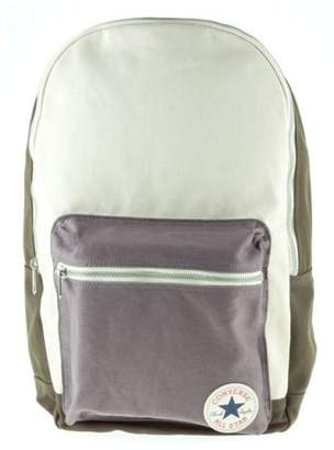 Converse New Mens Green Canvas Cotton Backpack Backpacks