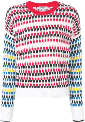 Kenzo cut-out jumper
