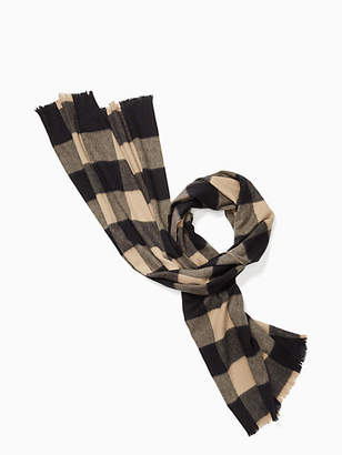 Kate Spade Mega check scarf