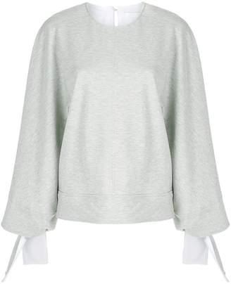 Victoria Beckham Victoria tie cuff sweater