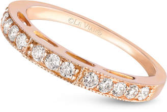 LeVian Le Vian Diamond Wedding Band (3/8 ct. t.w.) in 14k Rose Gold