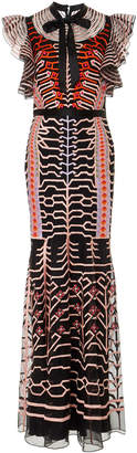 Temperley London Canopy Embroidered Dress