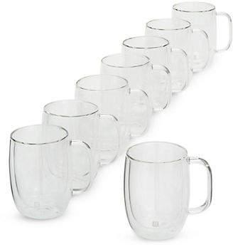 Zwilling J.A. Henckels Sorrento Eight-Piece Double Walled Mug Set