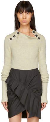 Etoile Isabel Marant Grey Koyle Rib Sweater