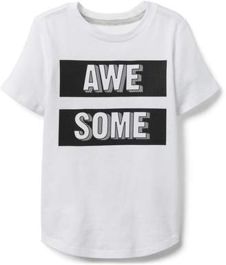 Crazy 8 Crazy8 Toddler Awesome Tee