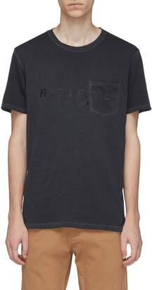 Rag & Bone Logo print chest pocket T-shirt