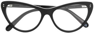 Stella McCartney cat-eye shaped glasses