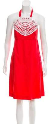 Lilly Pulitzer Halter Mini Dress