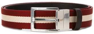 Bally striped belt