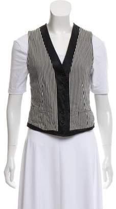 Ann Demeulemeester Striped Reversible Vest