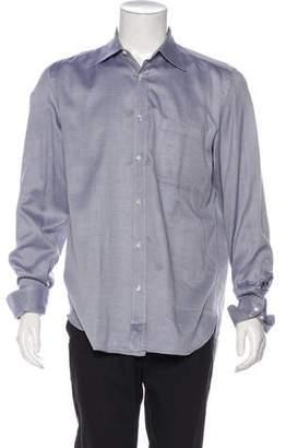 Borrelli Striped Pattern Shirt