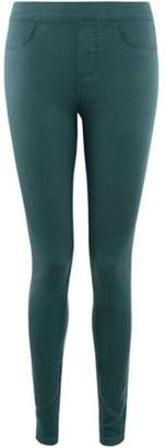 Dorothy Perkins Womens Green 'Eden' Jeggings