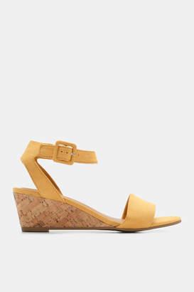 Ardene Faux Suede Wedge Sandals