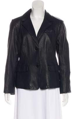 Tory Burch Long Sleeve Leather Jacket