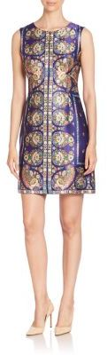 Nanette Lepore Printed Sleeveless Silk Dress $398 thestylecure.com