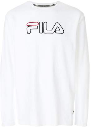 Fila logo embroidered sweatshirt
