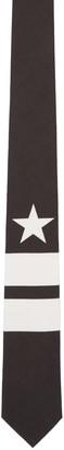 Givenchy Black Stripes & Star Tie $220 thestylecure.com