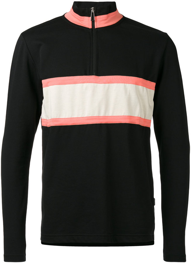 Paul SmithPs By Paul Smith panel zip placket top