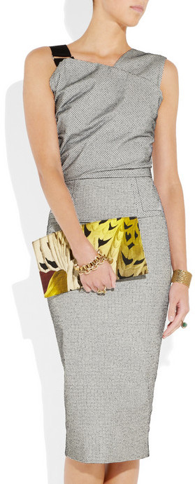 Reed Krakoff Atlantique printed canvas pouch