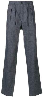 Fendi side panel trousers