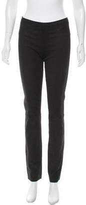 Giorgio Brato Distressed Straight-Leg Leggings