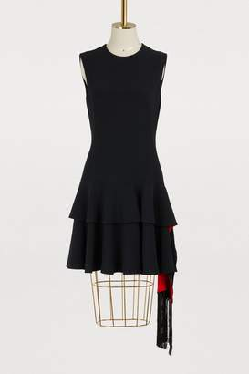 Alexander McQueen Peplum mini dress