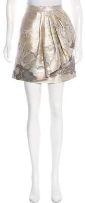 Zac Posen Asymmetrical Knee-Length Skirt