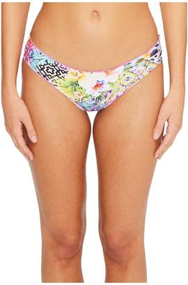 Luli Fama Guajira Superstar Full Ruched Back Bikini Bottom Women's Swimwear