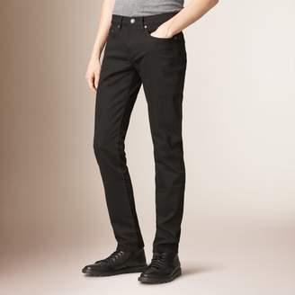 Burberry Slim Fit Deep Black Jeans