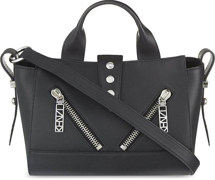 KenzoKenzo Kalifornia small leather shoulder bag