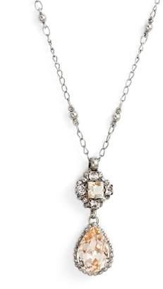 Sorrelli Posey Crystal Pendant Necklace