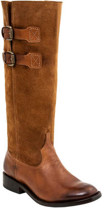 Lucchese Women's Riding Leather Western Boot