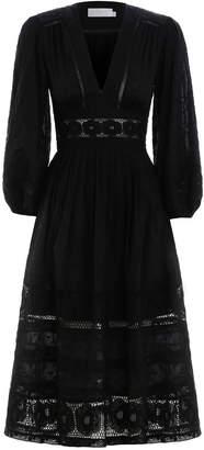 Zimmermann Prima Dot Broiderie Day Dress