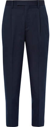 Folk Relaxed-Fit Cotton-Blend Twill Trousers