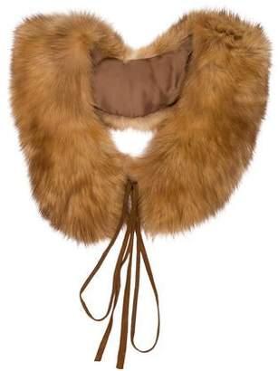 Blumarine Fur Detachable Collar