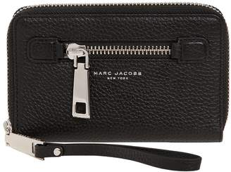 Marc Jacobs (マーク ジェイコブス) - Marc Jacobs Gotham Zip Around Wallet W/ Wristlet