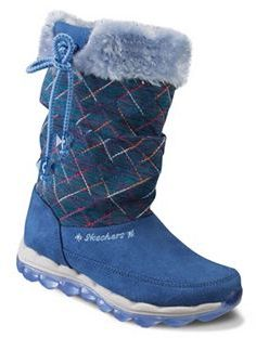 Skechers Skech-Air Quilty Cuties Girls' Boots $59.99 thestylecure.com
