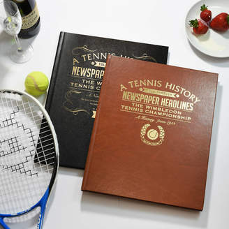Wimbledon Me and My Sport Personalised Tennis Gift Book