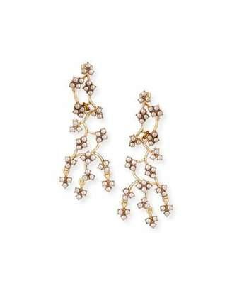 Lulu Frost Jackie Web Dangling Earrings $225 thestylecure.com