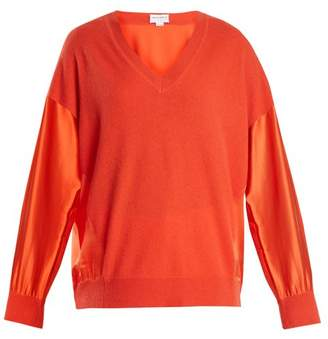 Amanda Wakeley Vikanda Cashmere And Silk Sweater - Womens - Red