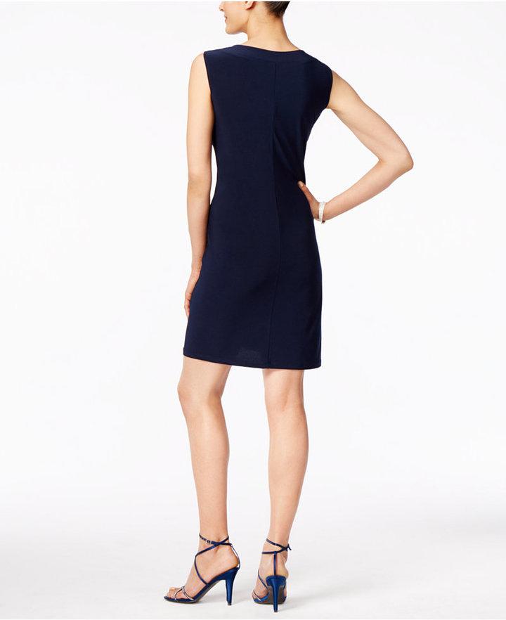 R & M Richards Embellished Dress and Illusion Duster Jacket 2